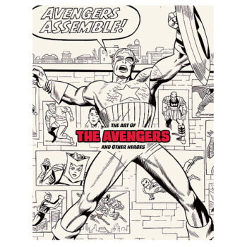 Art Of The Avengers & Other Heroes Exhibition Catalog
