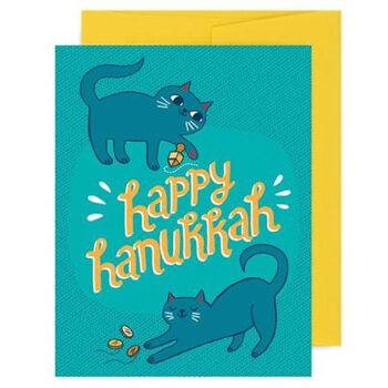 Happy Hannukah Kittens – Card