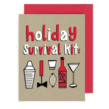Holiday Survival Kit – Card