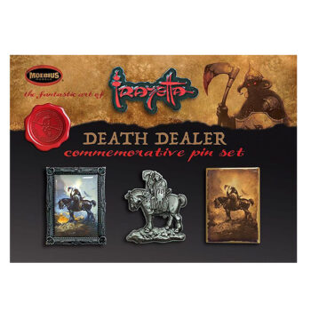 Frank Frazetta Four Pin Set