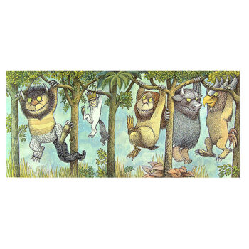 Hanging From Tree Limbs – Print
