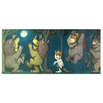 Let The Wild Rumpus Begin- Print