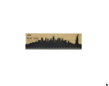 NYC Skyline Ruler