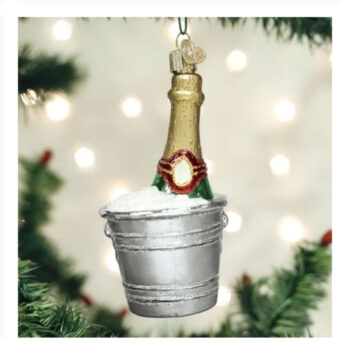 Chilled Champagne Ornament