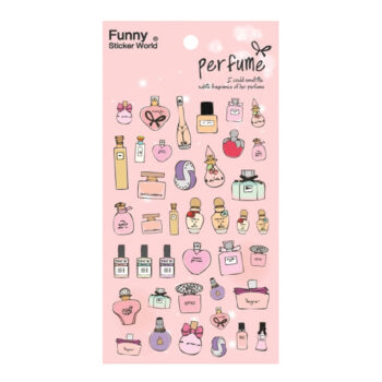 Perfume 3D Gel Sticker Set