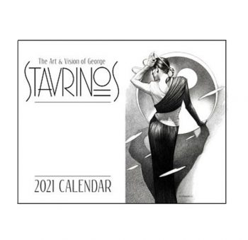 The Art & Vision Of George Stavrinos 2021 Calendar