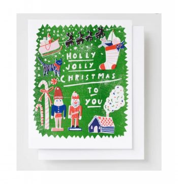 Holly Jolly – Holiday Card