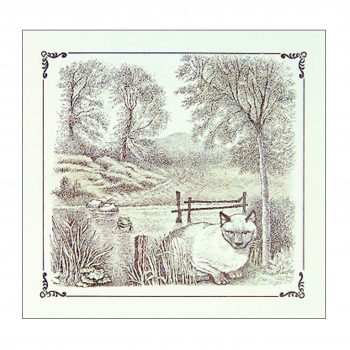 Cat By The Lake – Maurice Sendak Print