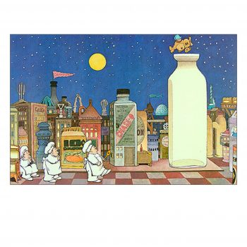 In The Night Kitchen (Cityscape) – Maurice Sendak Print