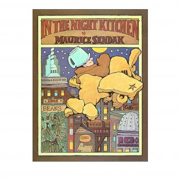 In The Night Kitchen (Front Cover)- Maurice Sendak Print