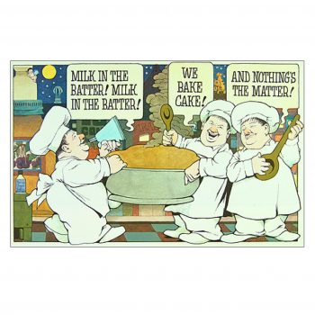 In The Night Kitchen (Milk In The Batter) – Maurice Sendak Print